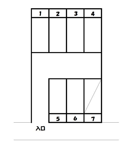 物件No.p021【千葉県佐倉市山王1丁目 3800円】-間取図