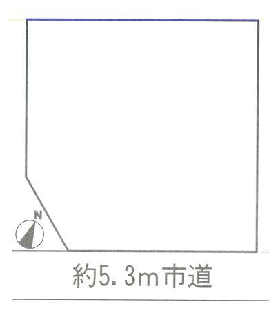 物件No.14131【千葉県匝瑳市八日市場ハ 470万円】-間取図