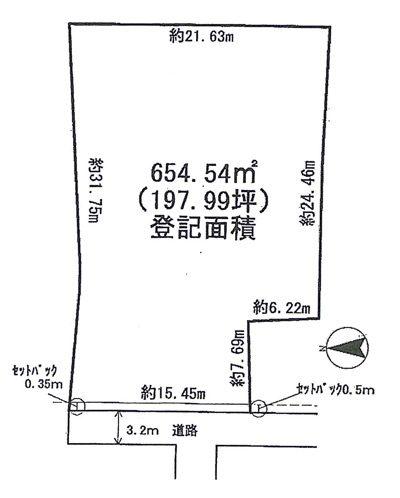 物件No.13742【千葉県印西市大森 1450万円】-間取図
