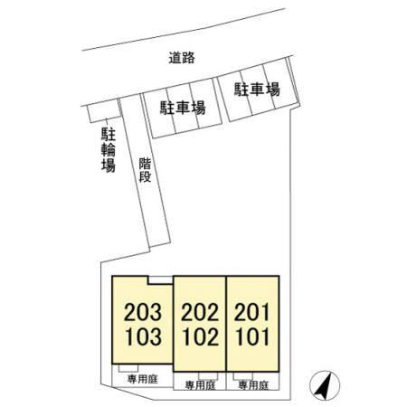 (賃貸)物件No.JS20177【千葉県佐倉市春路2丁目 74000円/月】-間取図