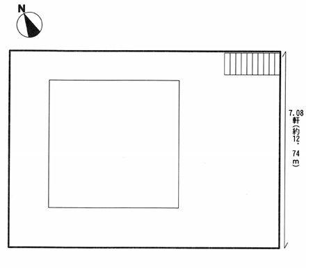 物件No.15470【千葉県成田市南平台 1280万円】-間取図
