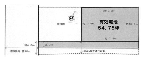 物件No.15674【千葉県佐倉市大蛇町100 1050万円】-間取図