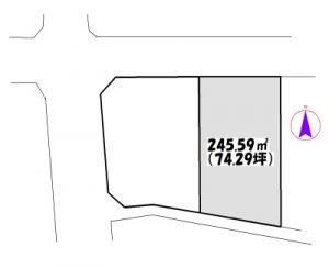 物件No.15362B【千葉県四街道市もねの里4 1750万円】-間取図