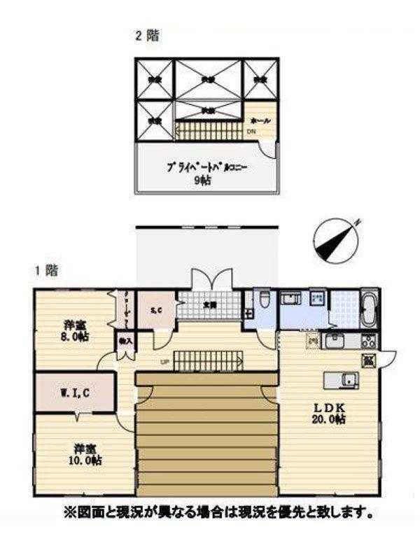 物件No.17203【千葉県東金市季美の森東 4980万円】-間取図