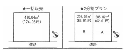 物件No.17346【千葉県山武市井之内2960 245万円】-間取図