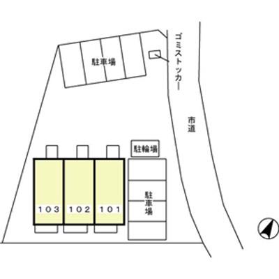 (賃貸)物件No.JS20145【千葉県佐倉市城 75000円/月】-間取図