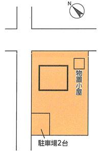 物件No.17792【千葉県東金市薄島424 1290万円】-間取図