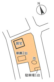 物件No.18172【千葉県山武市美杉野4-13 1890万円】-間取図