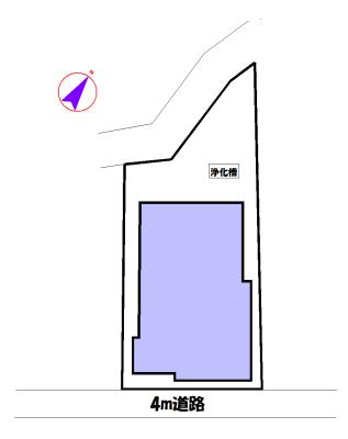 物件No.17670【千葉県山武市白幡 1250万円】-間取図