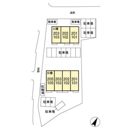 (賃貸)物件No.KS10077【千葉県佐倉市大蛇町576-1 62000円/月】-間取図
