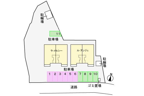 物件No.JS10141【千葉県佐倉市城 55000円】-間取図