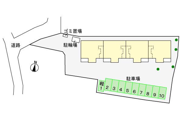 (賃貸)物件No.JS20199【千葉県佐倉市石川 70000円/月】-間取図