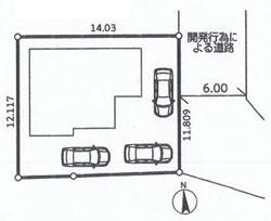 物件No.18305【千葉県佐倉市上志津原 1980万円】-間取図
