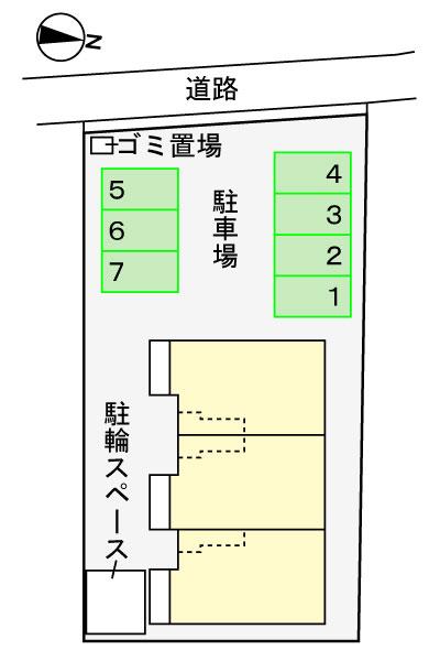 (賃貸)物件No.JS20207【千葉県佐倉市六崎635-1 70000円/月】-間取図