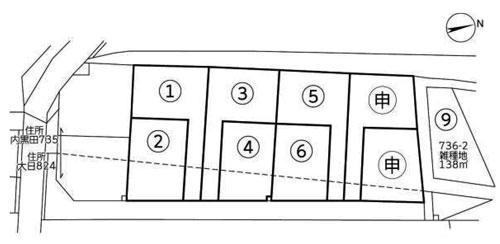 物件No.18341【千葉県四街道市内黒田 617万円】-間取図