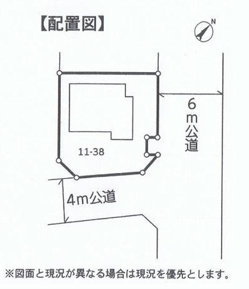 物件No.18322【千葉県八街市雁丸 1180万円】-間取図
