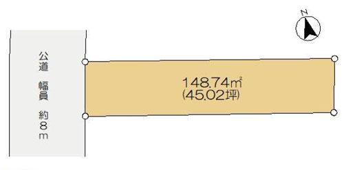 物件No.18375A【千葉県佐倉市表町3丁目 690万円】-間取図