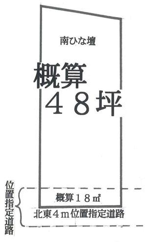 物件No.18555【千葉県佐倉市生谷 280万円】-間取図