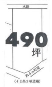 物件No.19039【千葉県印旛郡酒々井町馬橋 70万円】-間取図