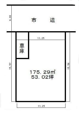 物件No.18943【千葉県八街市みどり台1-11-10 265万円】-間取図