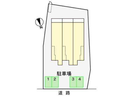 (賃貸)物件No.JS20219【千葉県佐倉市石川82-4 64000円/月】-間取図
