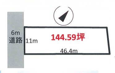 物件No.19167【千葉県長生郡一宮町船頭給1756-3 550万円】-間取図