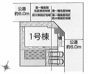 物件No.19222【千葉県佐倉市石川 1930万円】-間取図