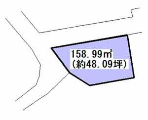 物件No.19266【千葉県八街市文違 190万円】-間取図
