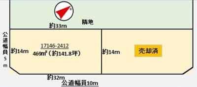 物件No.19198【千葉県匝瑳市野手 580万円】-間取図