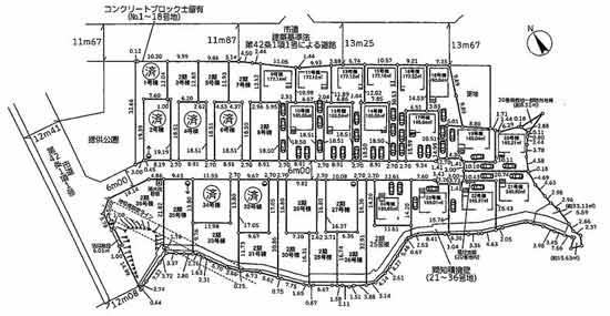 物件No.19329【千葉県四街道市小名木 2180万円】-間取図