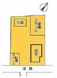 物件No.19370【千葉県山武市白幡 1090万円】-間取図