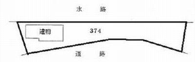 物件No.19376【千葉県山武郡九十九里町真亀 600万円】-間取図