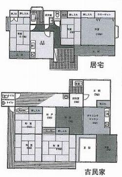 物件No.19364【千葉県大網白里市南今泉 1700万円】-間取図