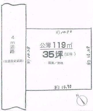 物件No.19453【千葉県佐倉市上志津原67-82 525万円】-間取図