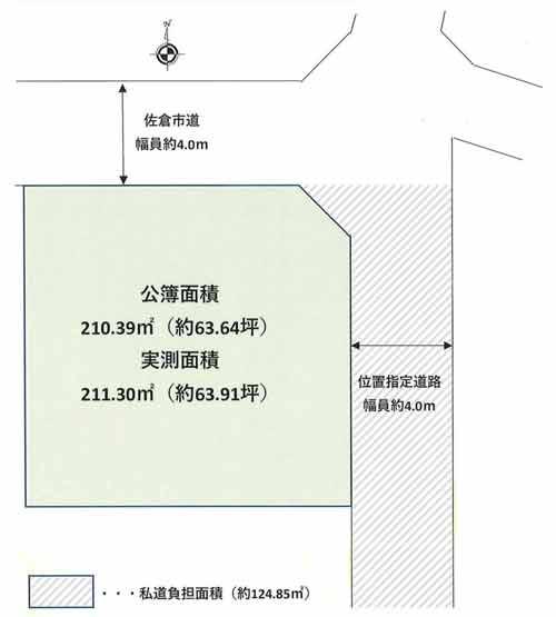 物件No.19426【千葉県佐倉市上座 1380万円】-間取図