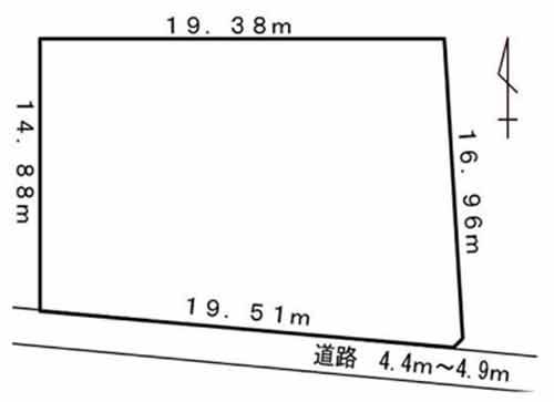 物件No.19432【千葉県長生郡一宮町一宮 784万円】-間取図