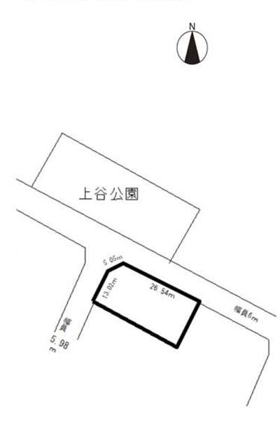 物件No.19607【千葉県東金市上谷 580万円】-間取図