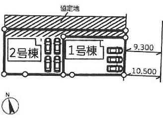 物件No.19624【千葉県成田市本城 2690万円】-間取図