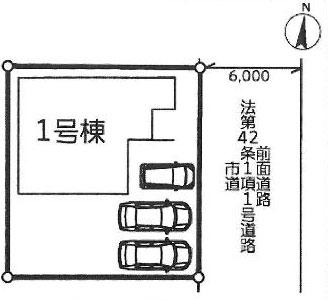 物件No.19628【千葉県八街市文違 1790万円】-間取図