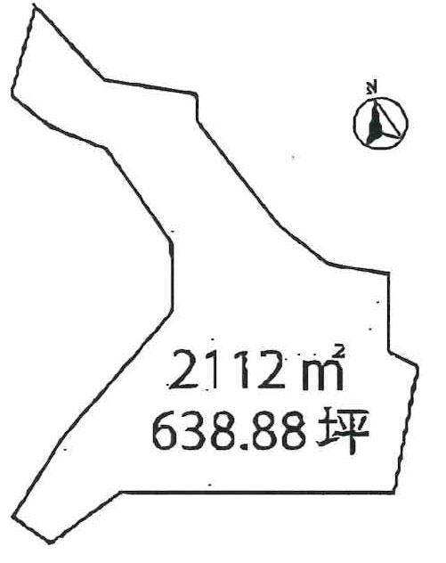 物件No.19630【千葉県君津市高水 200万円】-間取図