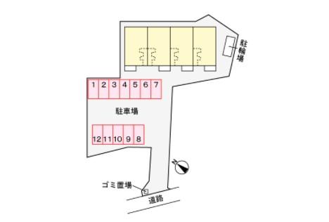 (賃貸)物件No.JS20228【千葉県佐倉市六崎964 83500円/月】-間取図