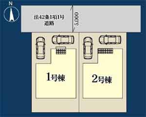 物件No.19766【千葉県四街道市大日 2380万円】-間取図