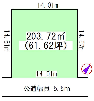 物件No.19790【千葉県佐倉市城204-93 980万円】-間取図