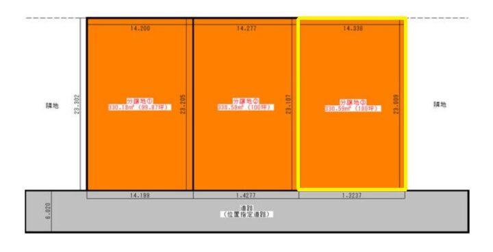 物件No.19872【千葉県八街市八街ほ126-29 750万円】-間取図