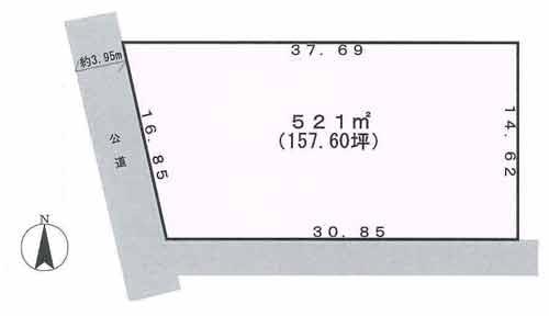 物件No.19846【千葉県市原市喜多 1180万円】-間取図