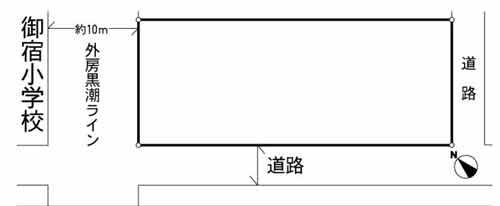物件No.19847【千葉県夷隅郡御宿町新町 1350万円】-間取図