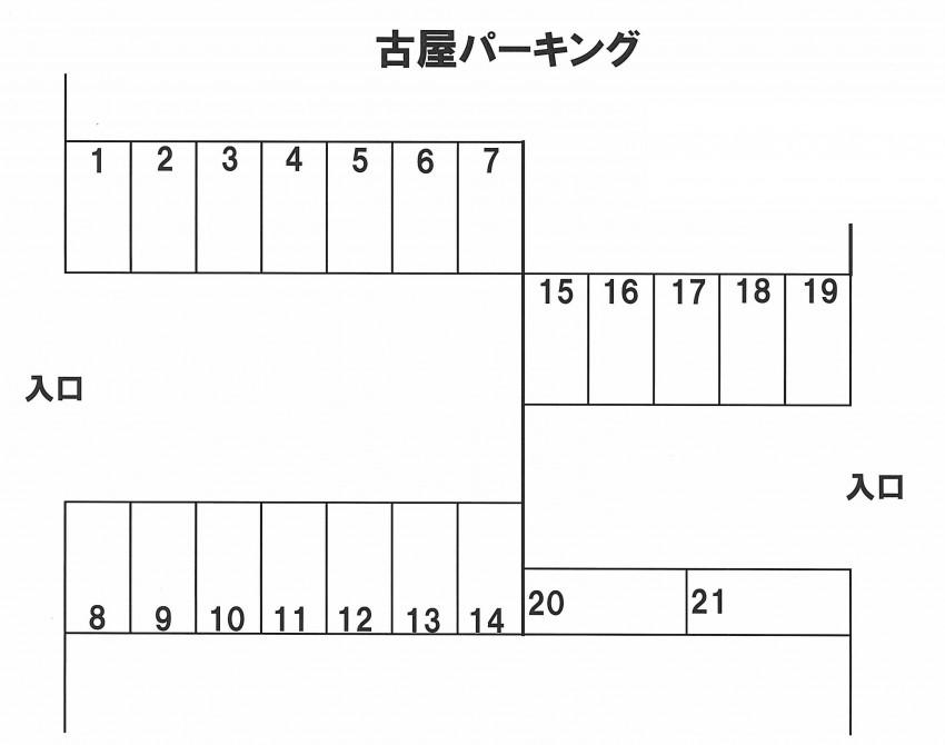 (賃貸)物件No.p037【千葉県四街道市もねの里3丁目 4860円/月】-間取図