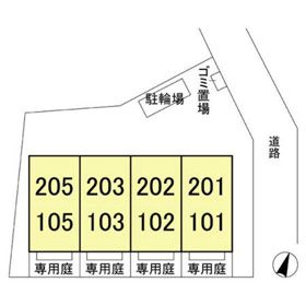 (賃貸)物件No.JS20133【千葉県佐倉市六崎 77000円/月】-間取図