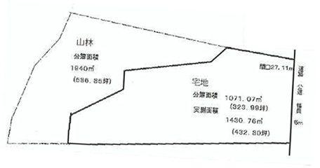 物件No.14956【千葉県大網白里市安養寺 700万円】-間取図