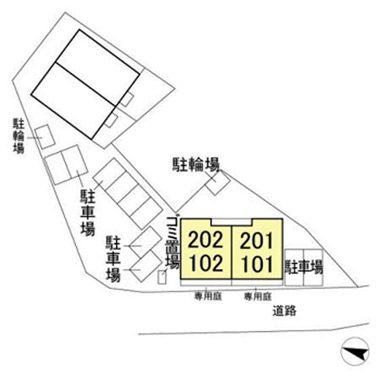 (賃貸)物件No.JS20144【千葉県佐倉市城 78000円/月】-間取図
